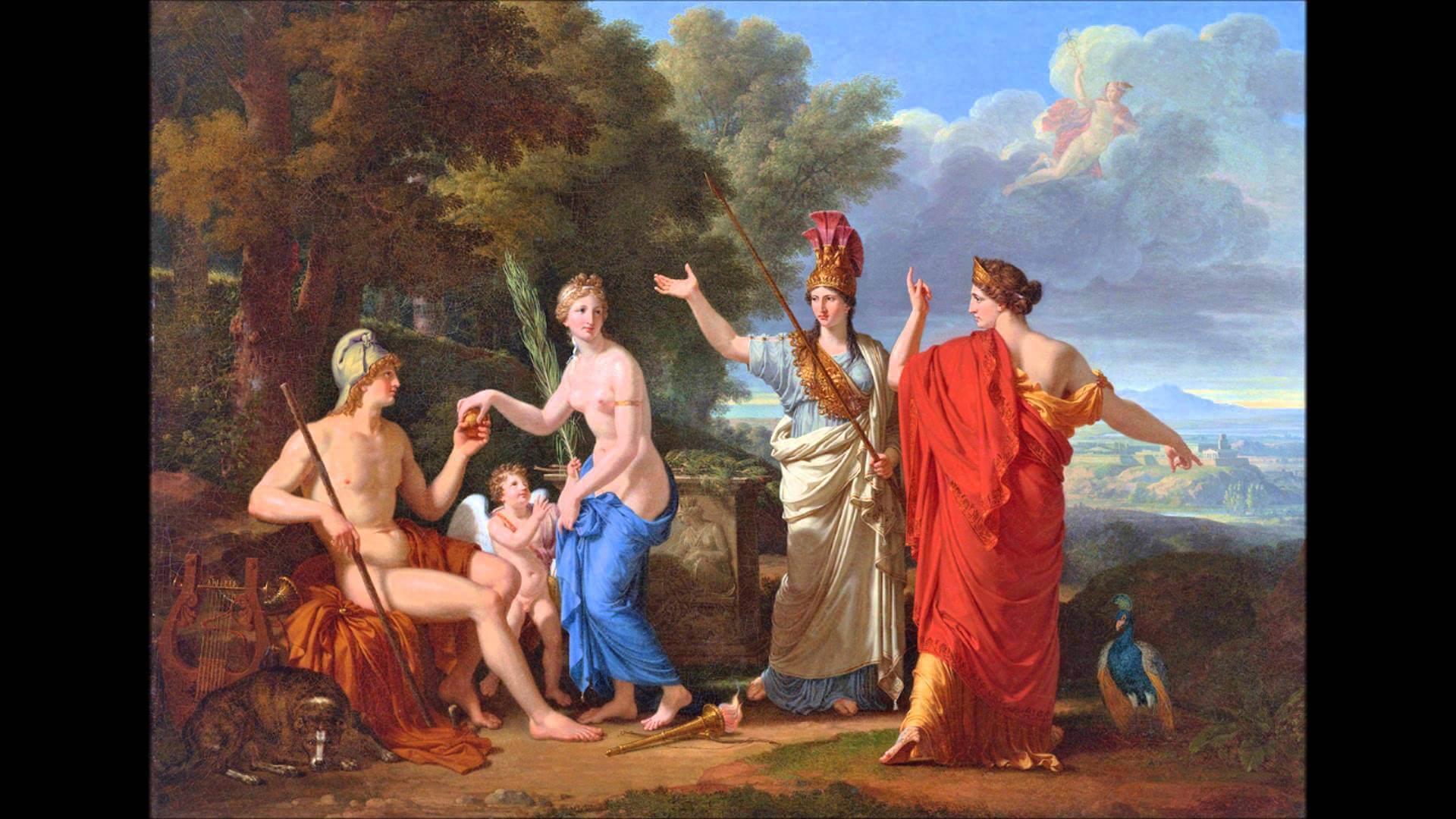 Древнегреческий миф про яблоко раздора